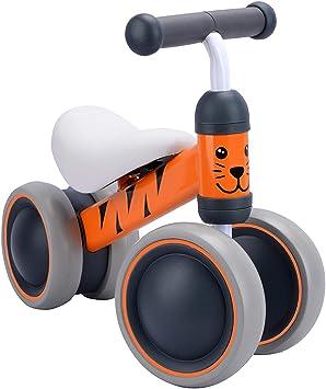 BOLDCUBE Bicicleta sin Pedales, Bici sin Pedales Niño, Juguetes Bebes 1 Año, Triciclos Bebes, Correpasillos Bebes 1 Año (Benny Tigre): Amazon.es: Juguetes y juegos