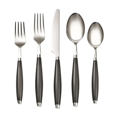 Fiesta 5-Piece Flatware Set, Slate
