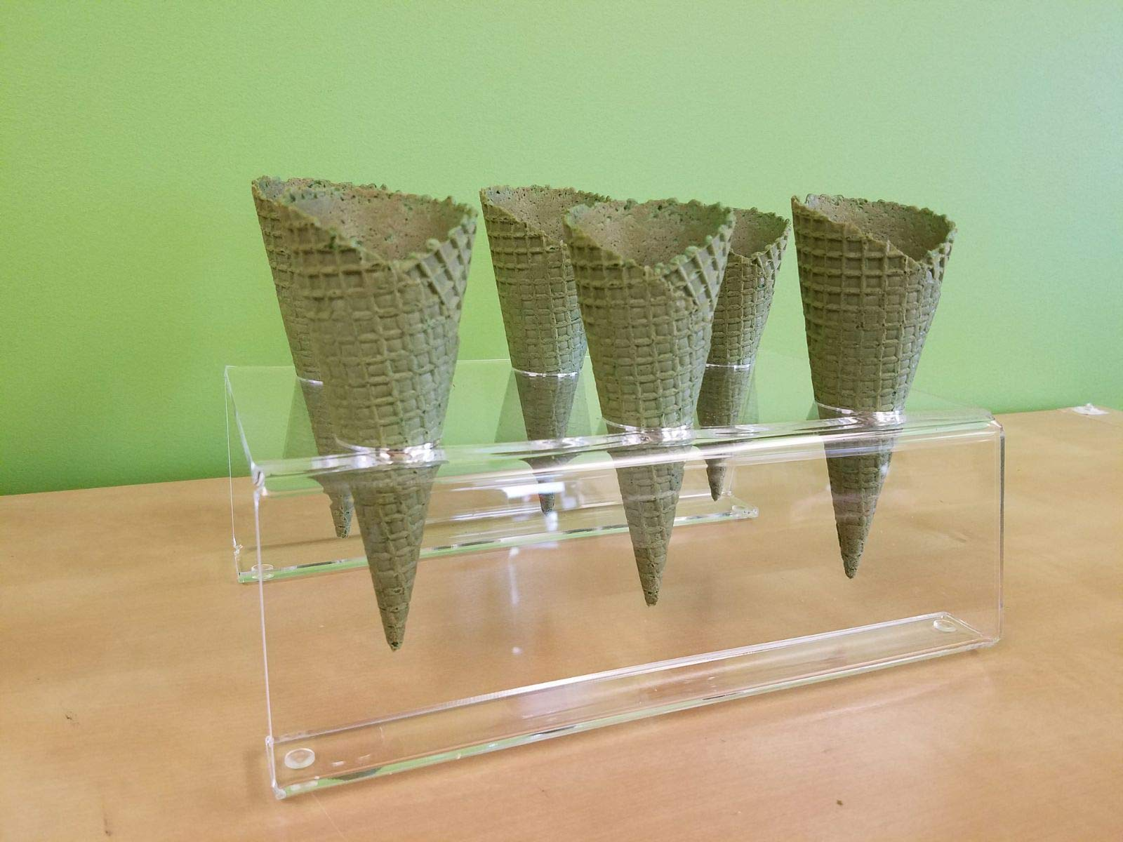 Cones (2.16'' X 5.5'') - 312 Units / Case (MATCHA GREEN TEAM) by Altimate Foods (Image #3)