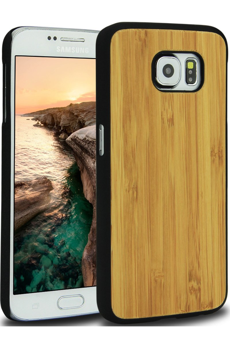 wooden samsung s6 case