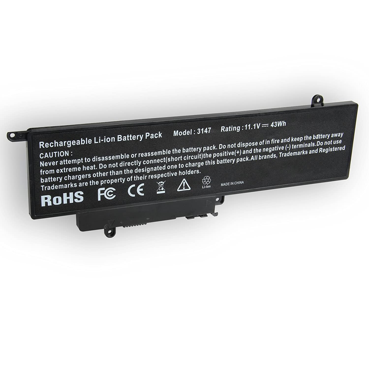 GK5KY Battery Compatible with Dell Inspiron 11 (3147/3148 / 3152) / 13  (7347/7348 / 7352) Series, fits 4K8YH 04k8yh 0WF28 P20T 92NCT 092nct  Notebook