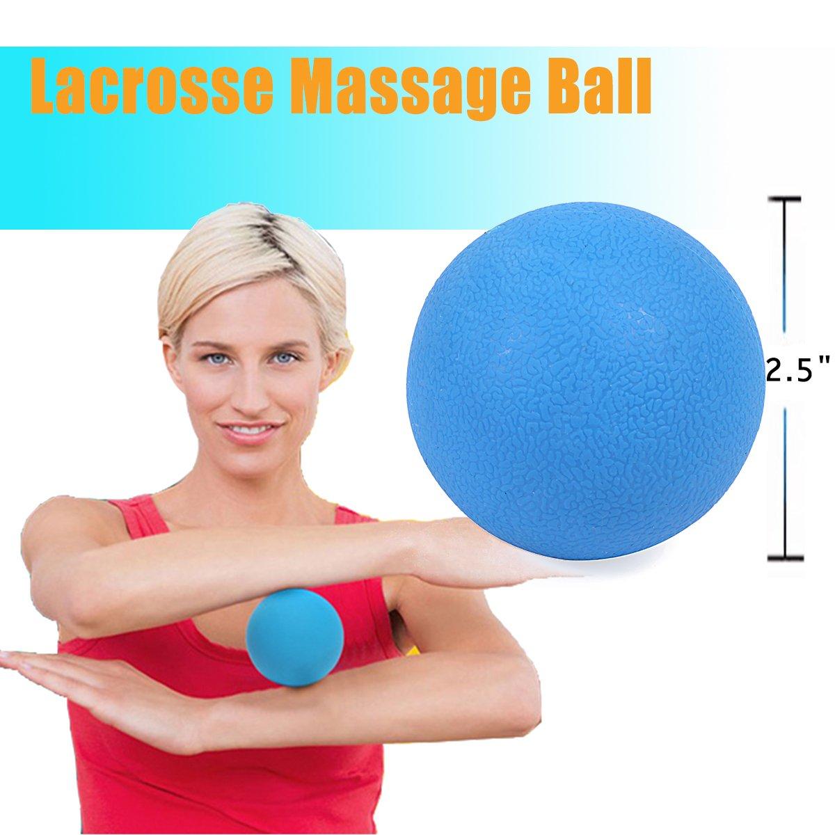 Massageball Erdnuss Linderung Schmerzen Yoga Übungen Lacrosse Myofascia Fitness