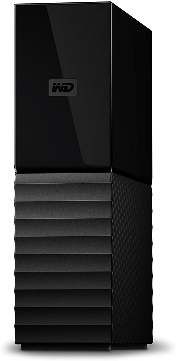 WD 3TB My Book Desktop External Hard Drive, USB 3.0 - WDBBGB0030HBK-NESN,Black