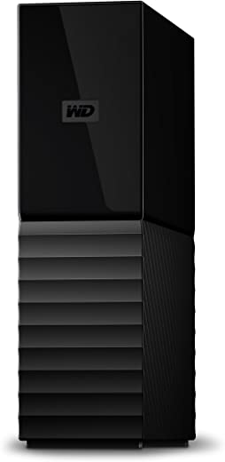 WD 6TB My Book Desktop External Hard Drive, USB 3.0 - WDBBGB0060HBK-NESN,Black