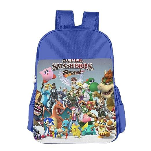 Amazon.com  Super Smash Bros Brawl School Backpack Bag  Home   Kitchen 2839c77705