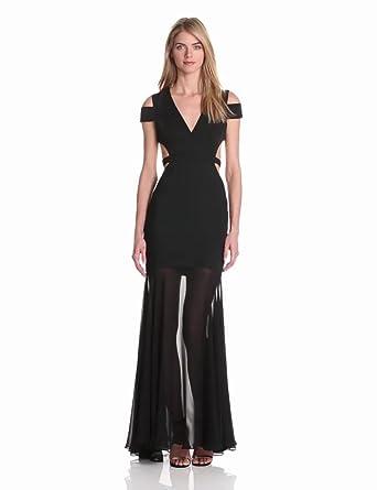 Sale 6857f 2f280 Bcbg Black Gown Blogquerotrabalhar