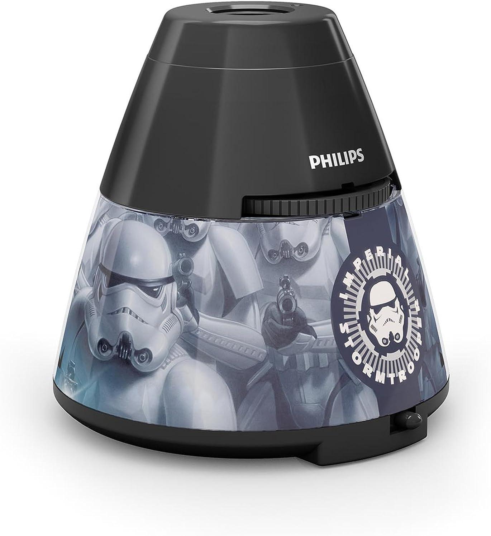 Philips Lighting Proyector y luz nocturna 2 en 1 717699916, 4.5 W ...