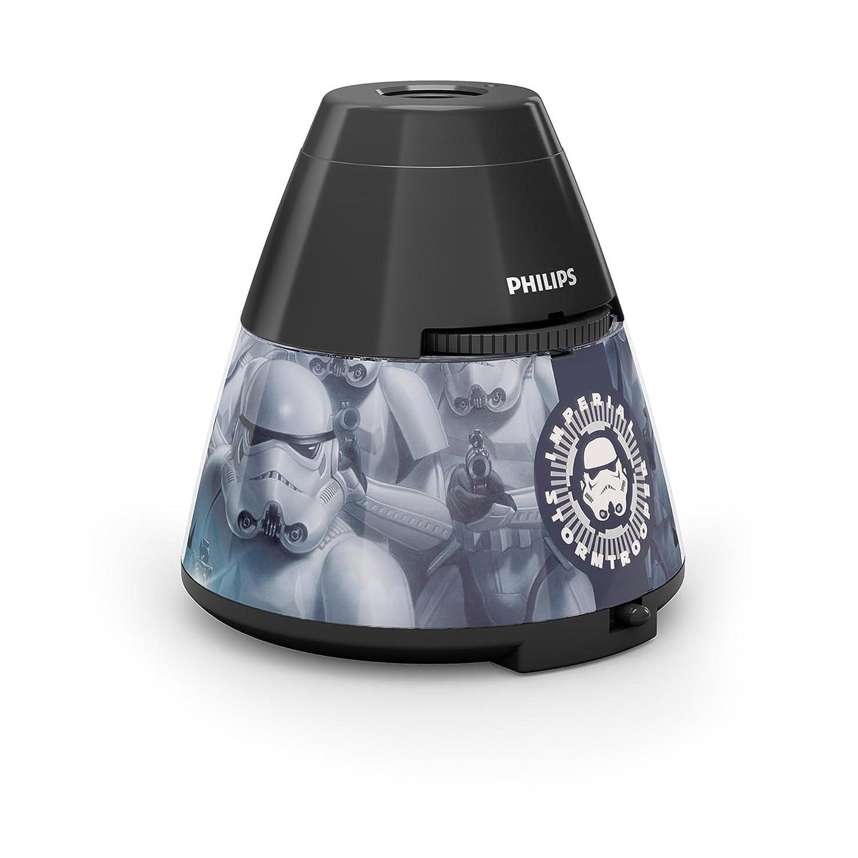 Philips Star Wars Soldado Imperial Proyector y luz nocturna  luz blanca