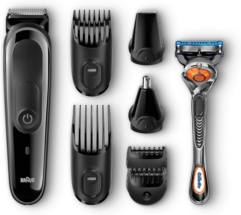 Braun MGK3060 Corta Barbas Hombre 8En1 Recortadora Barba y ...