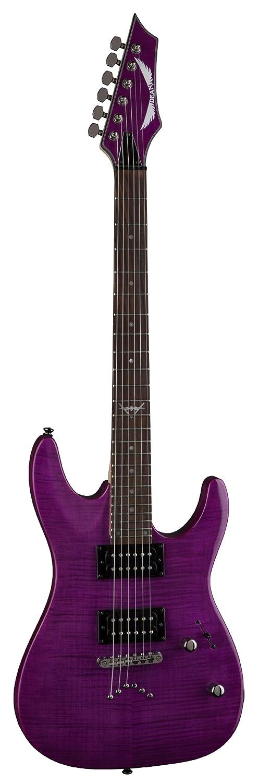 Dean Guitars Custom 350 - Guitarra eléctrica Cable de color morado: Amazon.es: Instrumentos musicales