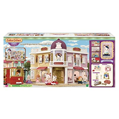 Calico Critters CC3011 Grand Department Store Gift Set: Toys & Games