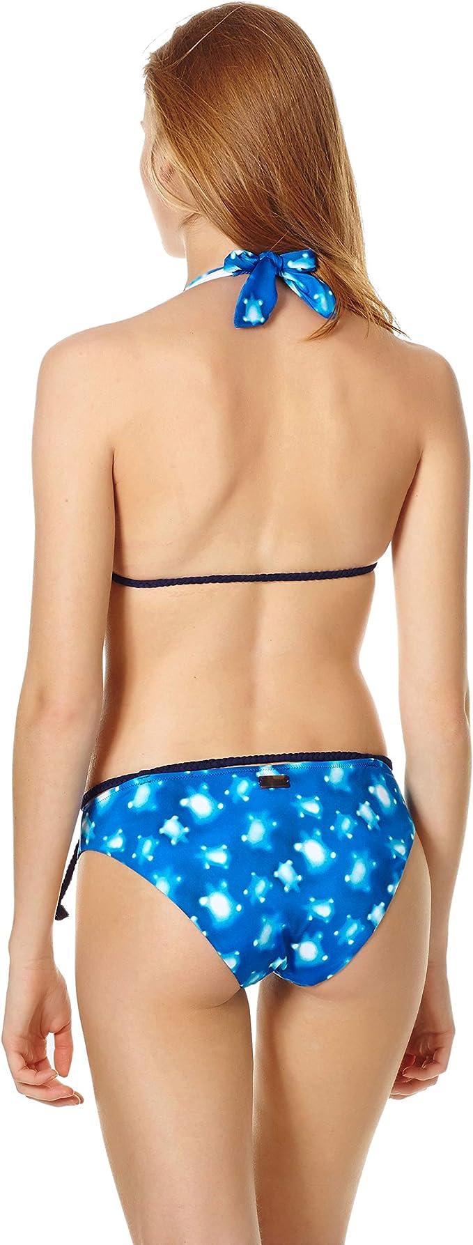 Vilebrequin Bikini Bottom Covering Brief Crystal Turtles Women
