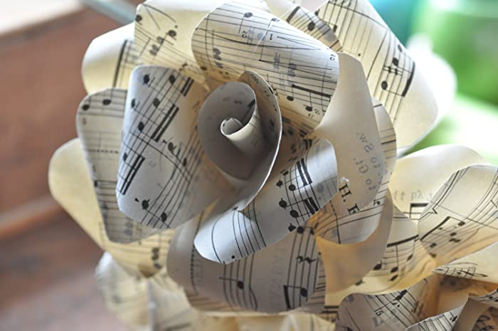 Amazon Music Flowers Music Paper Flowers Gift For Musician