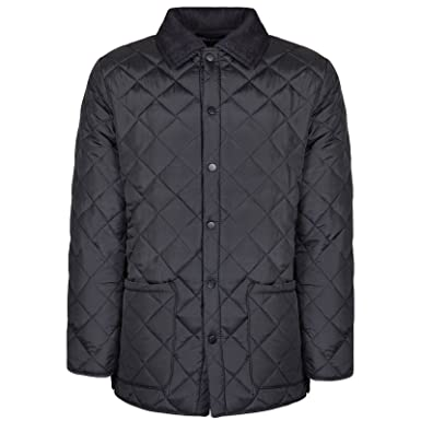 Soul Star Mens Diamond Quilted Jacket At Amazon Mens Clothing Store