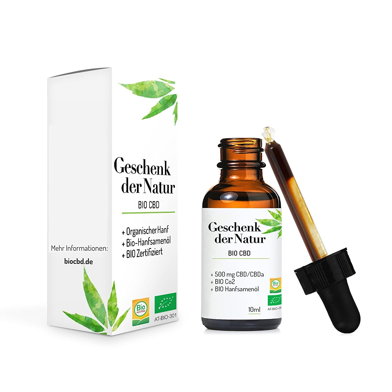 Gift of Nature CBD油 有机纯植物火麻仁油10ml