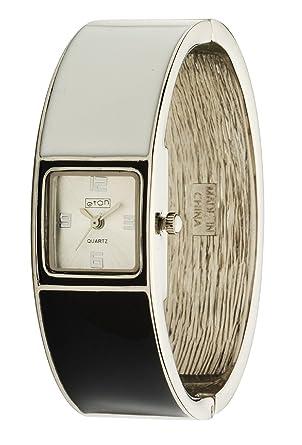 Eton Damen-Armbanduhr 3118L-BK  Amazon.de  Uhren 540da93207