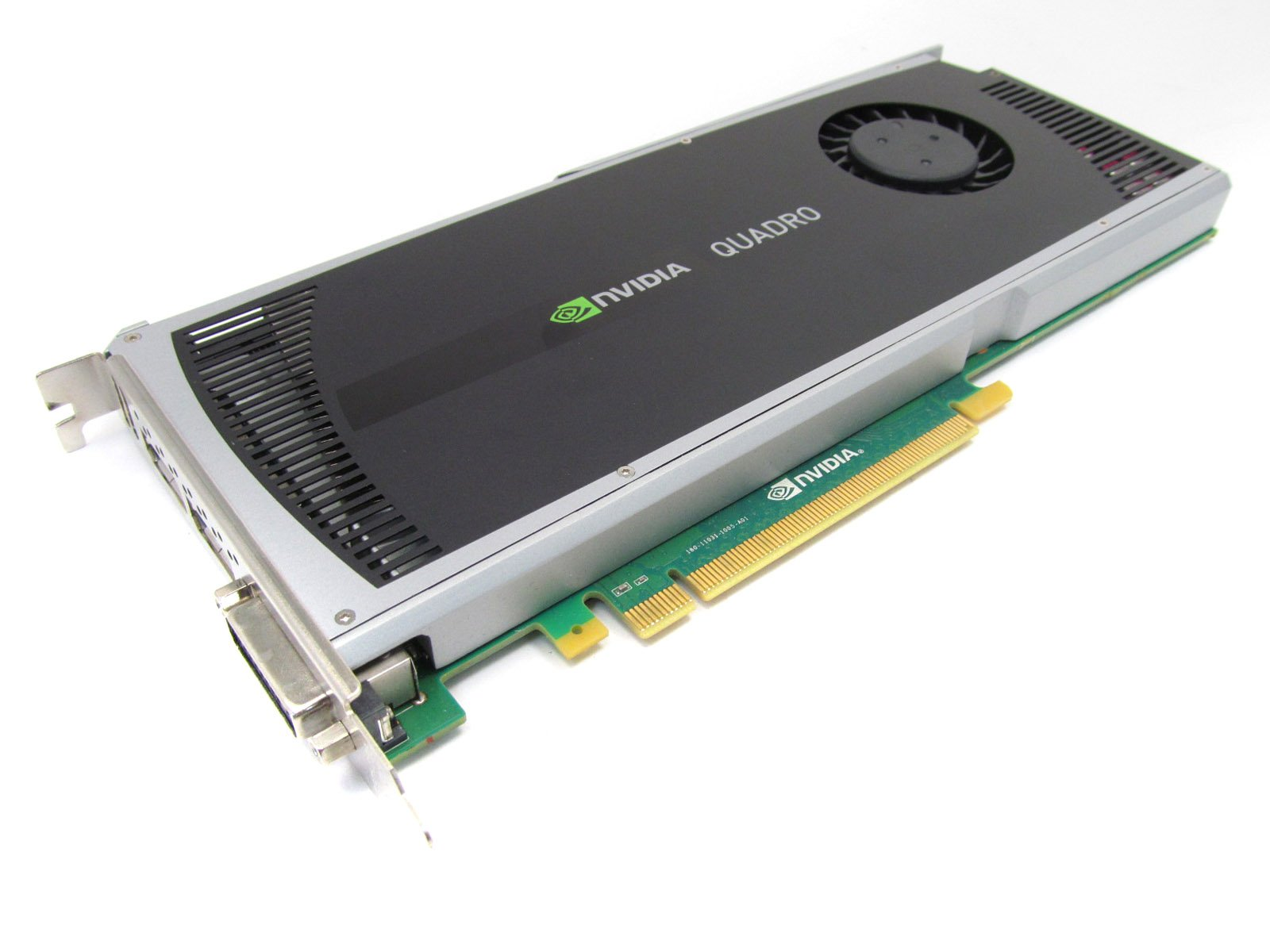 HP 707253-001 NVIDIA Quadro 4000 PCIe 2GB GDDR5 graphics memory - With 1 Dual Link DVI-I and 2 DisplayPort ports - Maximum display resolution 2, 560 x 1, 600 pixels at 60Hz