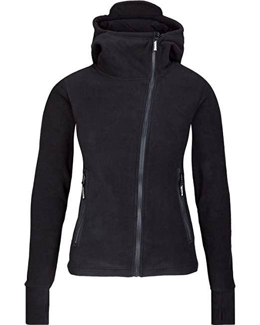 Bench Women's Fleecejacke Ninja Hood Body Mould Sweatshirt