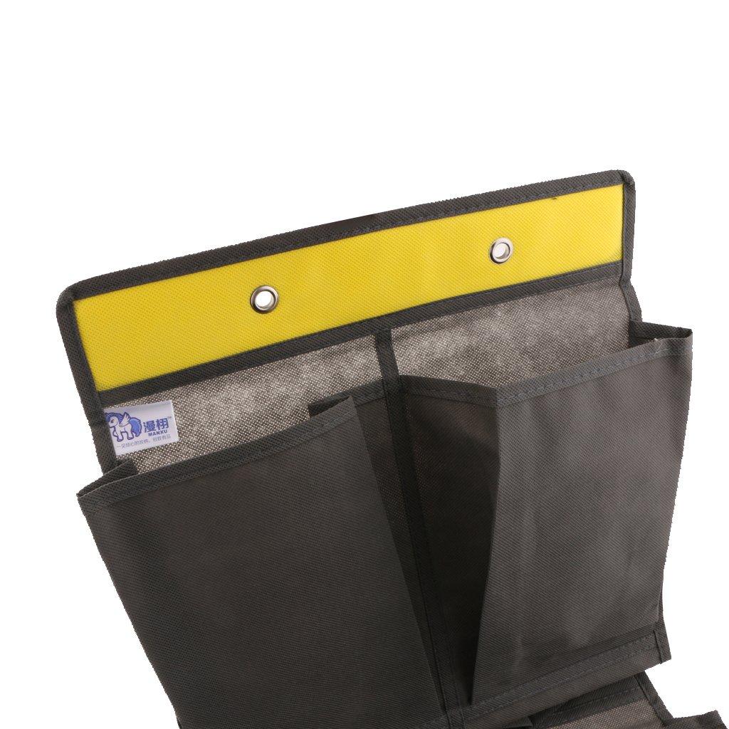 P/úrpura 12 Bolsillos Colgante de Pared Sobre Puerta Bolsa de Zapatos Holder Organizador Almacenamiento