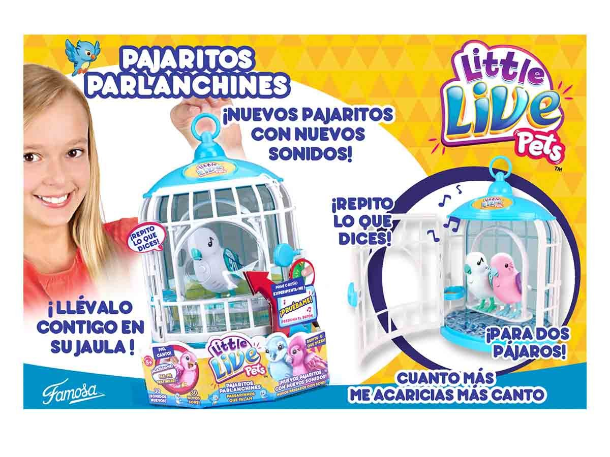 Amazon.es: Little Live Pets - Pajarito con Jaula Serie 2 (surtidos ...