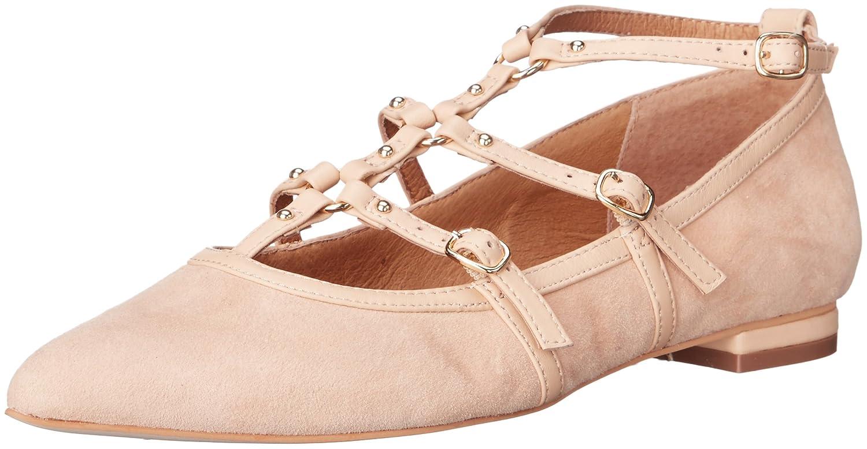 Corso Como Women's Mince Ballet Flat B01CRWZSVY 7 B(M) US|Nude Suede