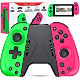 ESYWEN Switch Controller for Nintendo Switch Joy Pad,Alternative Controllers for Nintendo Switch with Macro,Motion Control,Re