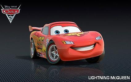 Posterhouzz Movie Cars 2 Lightning Mcqueen Car Hd Wallpaper