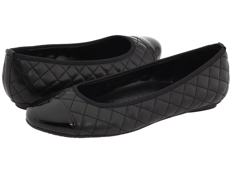VANELi Womens Serene Flat B0059PL93S 6 AA US|Black Nappa/Black Patent