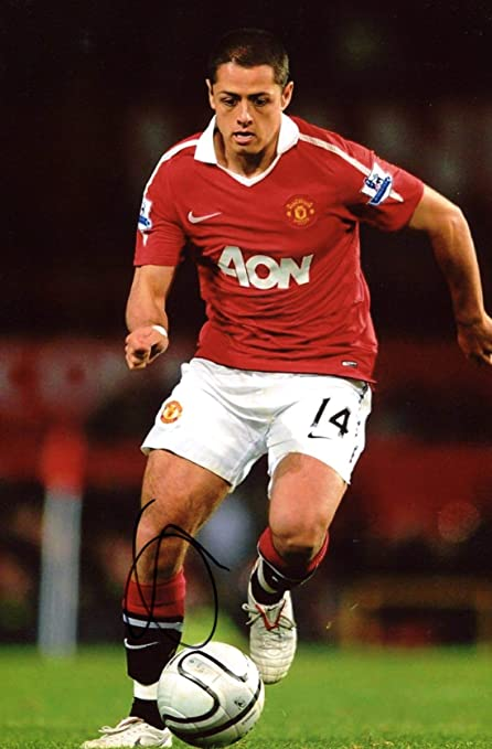 Image Unavailable. Image not available for. Color  SOCCER Chicharito Javier  Hernández autograph ... 3ab870104