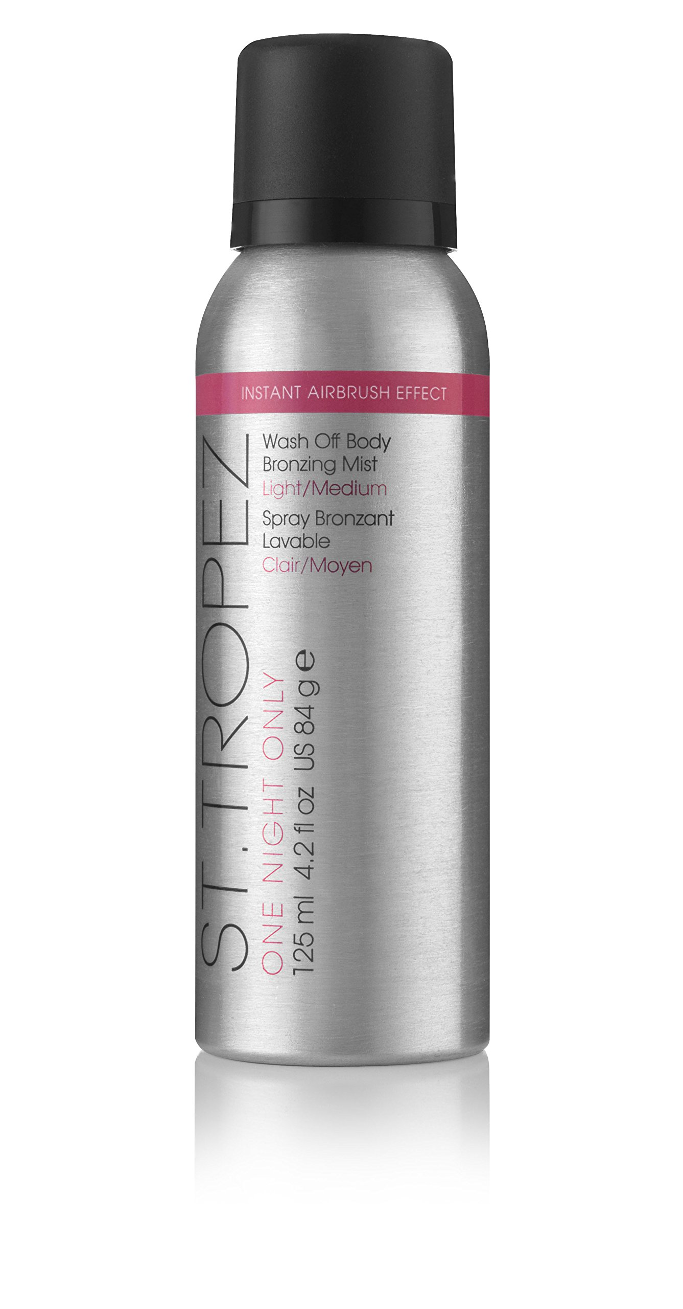 St. Tropez One Night Only Wash Off Body Bronzing Mist, Light/Medium