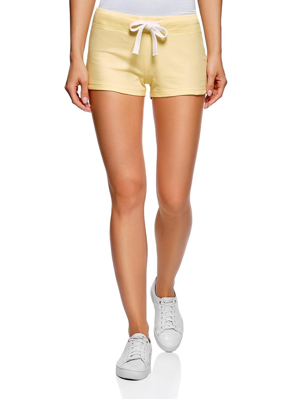oodji Ultra Donna Pantaloncini Basic in Maglia RIFICZECH s.r.o. 17001029-4B