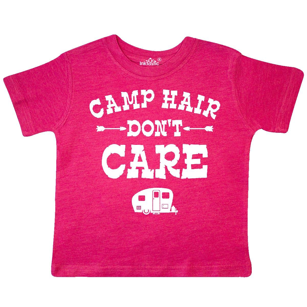 inktastic Camp Hair Dont Care RV Toddler T-Shirt