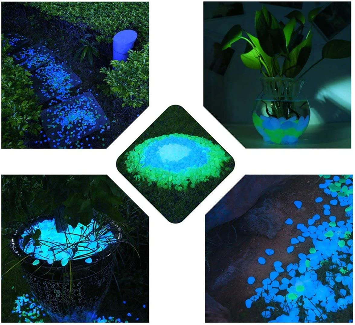 Details about  /Garden Pebbles Glow Stones Rocks for Walkways Garden PathWhite30pcs GZ