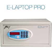 Godrej E-Laptop Pro Electronic Safe (Ivory, Powder Coated Finish)