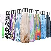flintronic Thermosbeker, 500 ml, vacuüm waterfles, drinkfles, lekvrije koffiebeker, BPA-vrij, lekvrij, reisbeker voor…