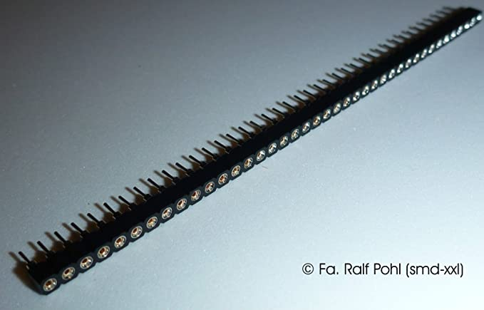 RM 2,54mm 10 x  Stiftleiste -12-polig NEU 3-reihig