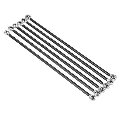 1 Juego de Varilla de Empuje Diagonal de Carbono de Metal de ...