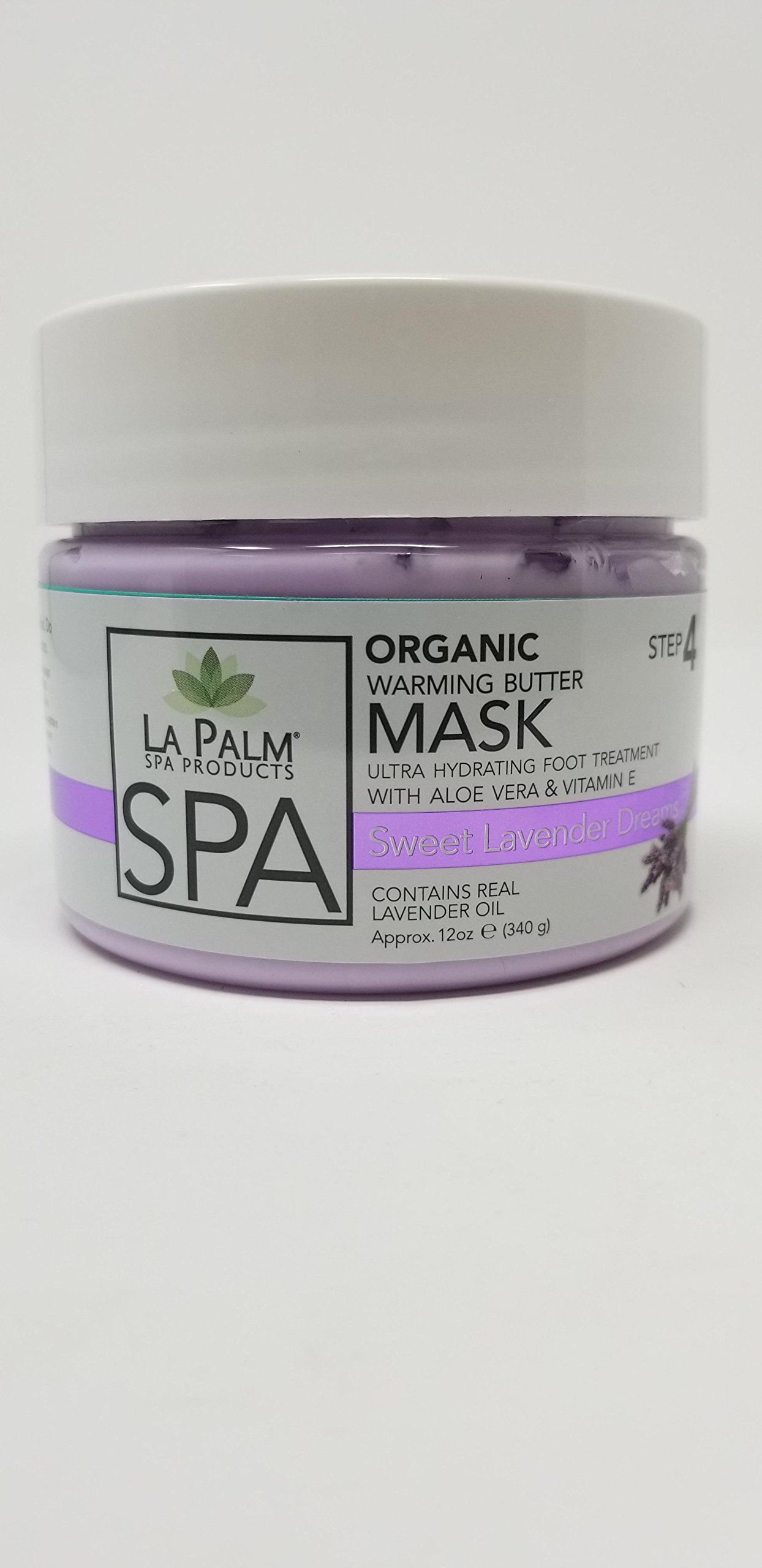 Organic Warming Butter Mask - Sweet Lavender Dreams