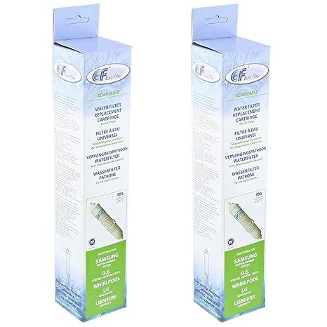 Cartucho de filtro de agua para frigorífico o congelador ...