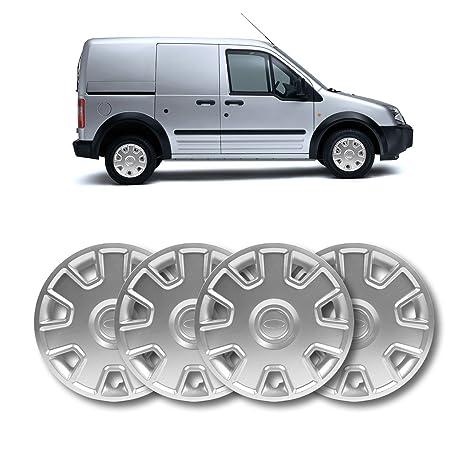 4 x Ford Focus/Connect 15 tapacubos ABS plástico sólido: Amazon.es: Coche y moto