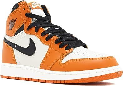 air jordan 1 orange et blanche