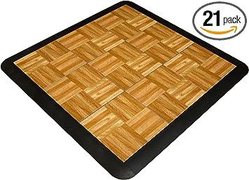price per piece 81 Pieces Wooden Dance Floor Cam Lock