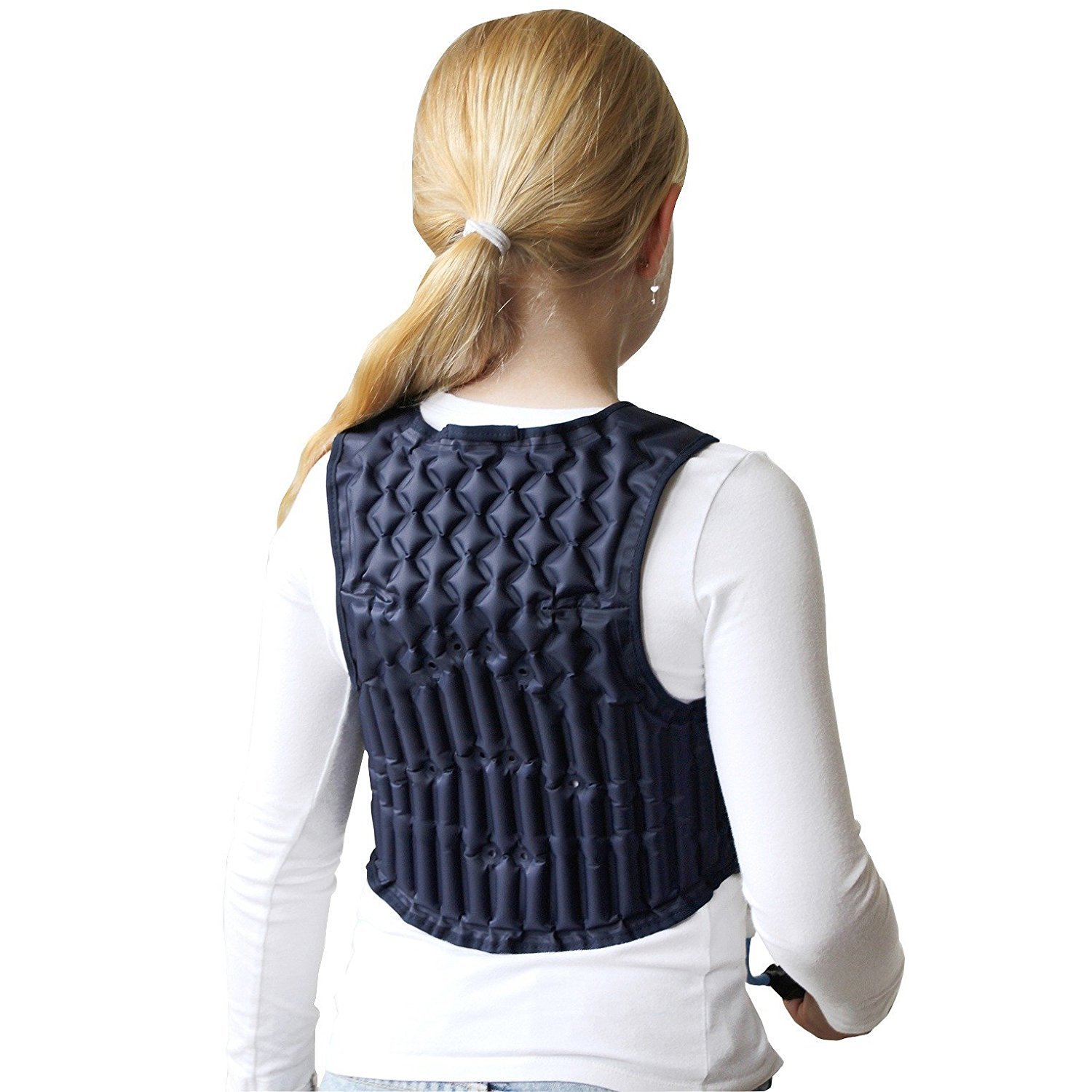 Squease a Non weighted deep pressure vest for Autism ADHD