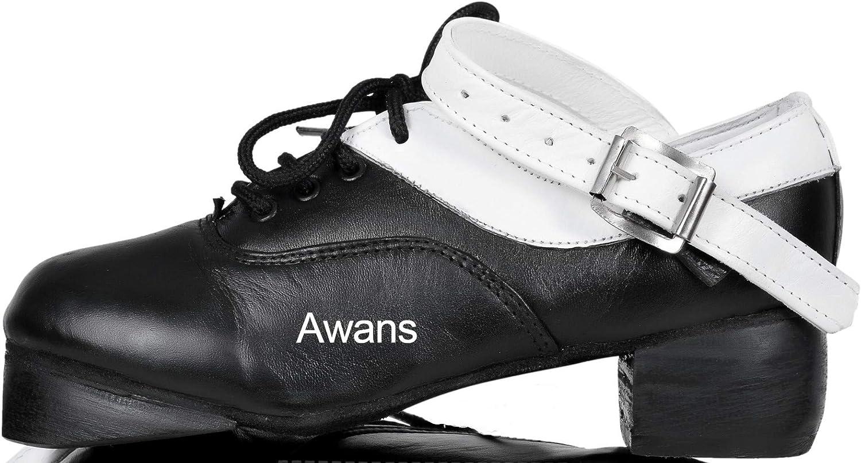 Awans  Irish Dancing Shoes M/ädchen Tanzschuhe Schwarz Schwarz S Kleine Kinder