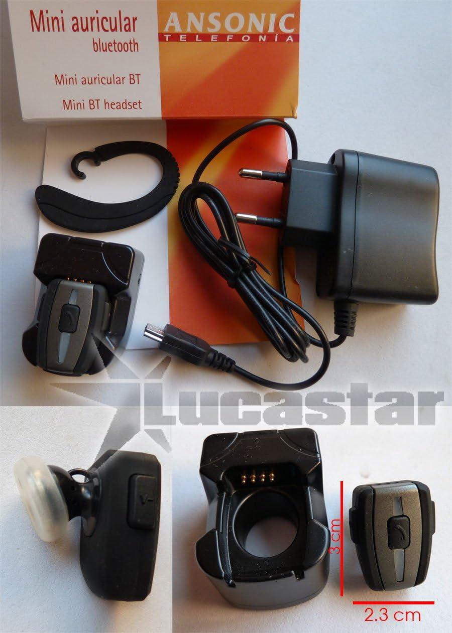 Auricular Bluetooth Microscópico ANSONIC: Amazon.es: Electrónica