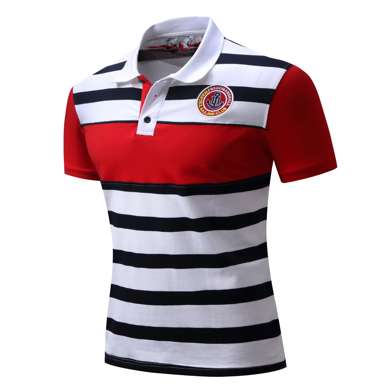sweattang New Mens Cotton Short Sleeve Polo Pique Shirt