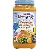 Nestlé Naturnes - Verduritas de la Huerta con Pollo - A partir de 6 meses - 250 g
