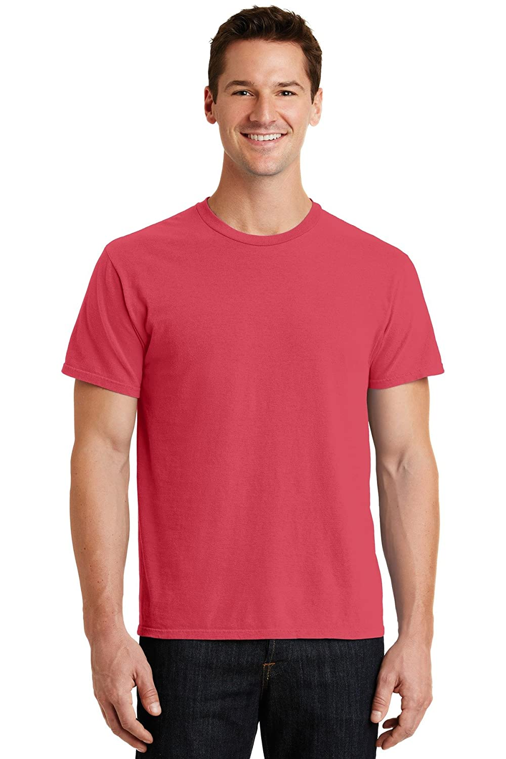 Port /& Company Mens Essential Pigment Dyed Tee