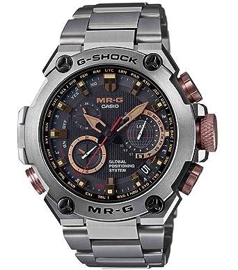 68f2285cb635 Amazon.com  Casio G-Shock MR-G GPS Atomic Solar Hybrid MRG-G1000  MRGG1000DC-1A  Casio  Watches