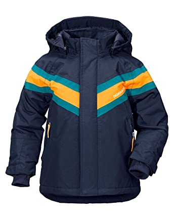 36158e5f Didriksons Kids Säfsen 2 Jacket Navy 100: Amazon.co.uk: Clothing